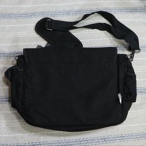 Black Ed Hardy Leo Tiger Messenger Bag